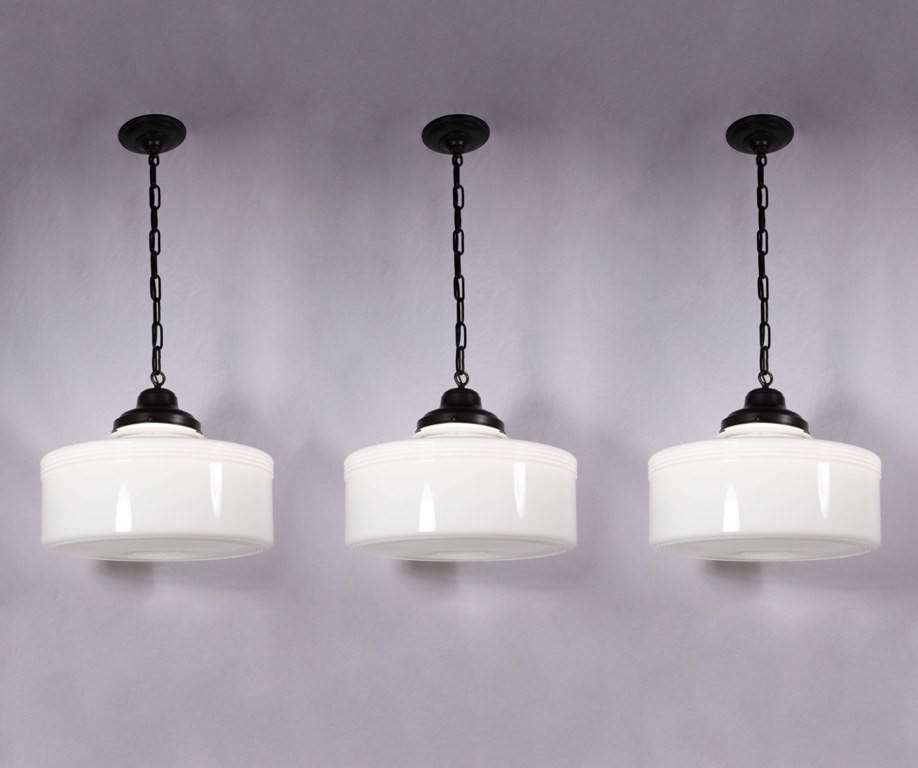 Popular Photo of Milk Glass Lights Fixtures