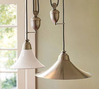 Light Fixtures – Julie Blanner Entertaining & Home Design That Pertaining To Pulley Lights Fixture (#10 of 15)