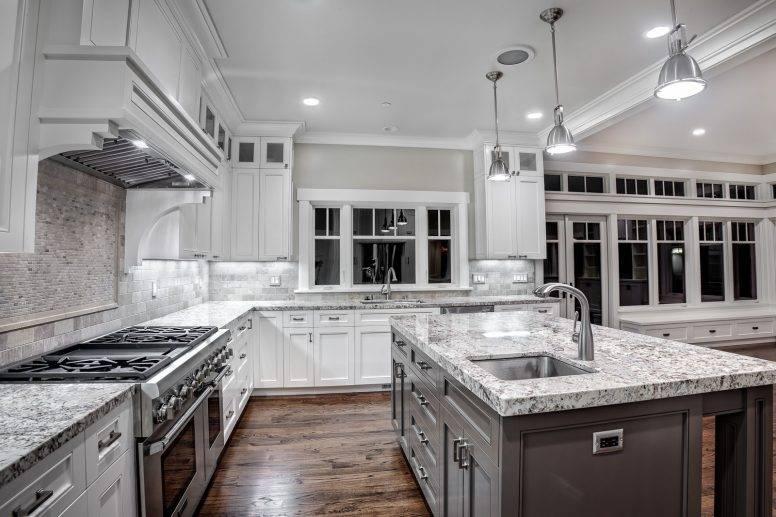 Popular Photo of Stainless Steel Kitchen Lights