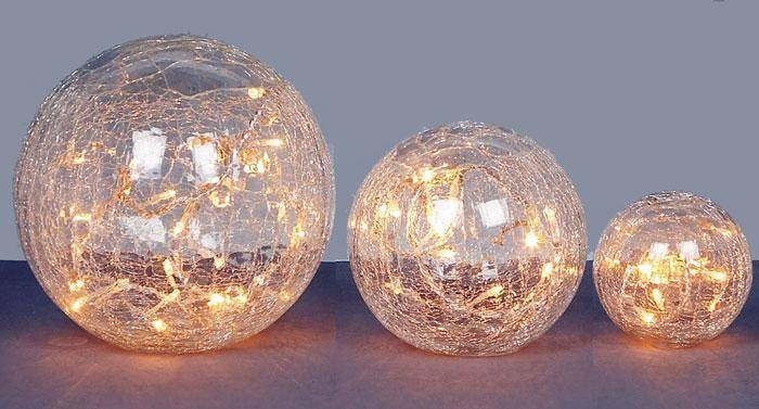 Light Up Glass Balls » Lamps And Lighting With Regard To Glass Orb Lights (#13 of 15)