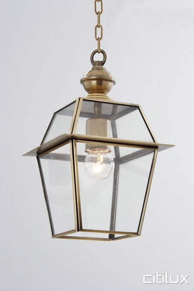 Lighting Australia   Collaroy Traditional Outdoor Brass Pendant Pertaining To Traditional Pendant Lights Australia (View 3 of 15)