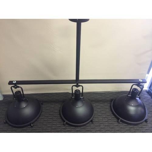 Lighting Australia | Glebe 3 Light Industrial Pendant Lamp Hermosa For Industrial Pendant Lighting Australia (#9 of 15)