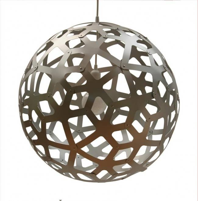 Lighting Australia | Pe0040 Coral Pendant Aluminium David Within David Trubridge Coral Pendants (#12 of 15)