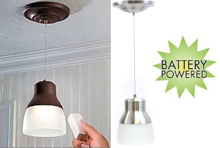 Lighting – Battery Powered Inside Battery Operated Pendant Lights (#12 of 15)