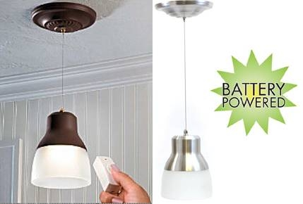15 Best Of Battery Operated Pendant Lights Fixtures