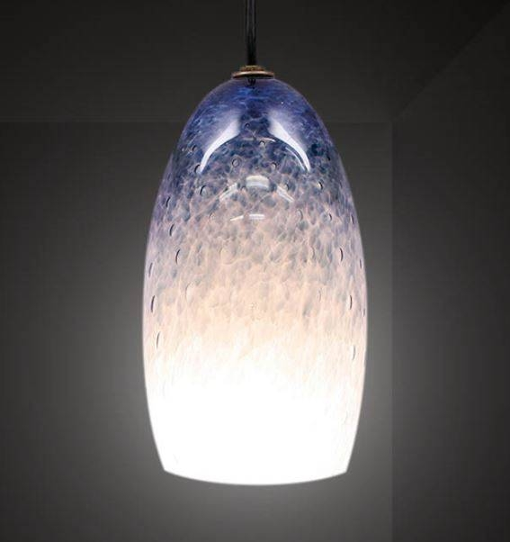 Lighting Blog | Blown Glass Pendant Lights For Unique Kitchens With Regard To Artisan Glass Pendant Lights (#11 of 15)