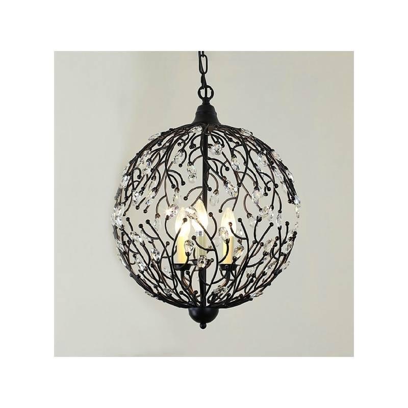 Popular Photo of Wrought Iron Light Pendants