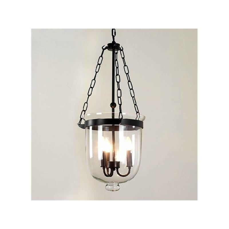 Lighting – Ceiling Lights – Pendant Lights – American Country Within Black Wrought Iron Pendant Lights (#12 of 15)