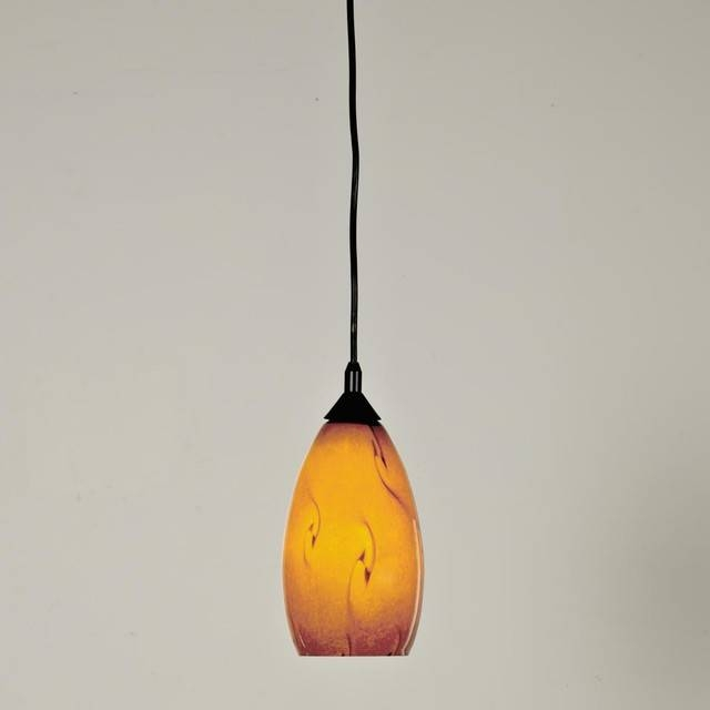 Lighting Design Ideas: Best Examples Of Art Glass Pendant Lights Within Art Glass Pendant Lights Shades (View 4 of 15)