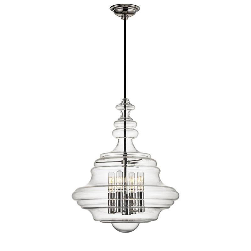 Lighting Design Ideas: Brushed Polished Nickel Pendant Lights In With Regard To Polished Nickel Pendant Lights Fixtures (#11 of 15)