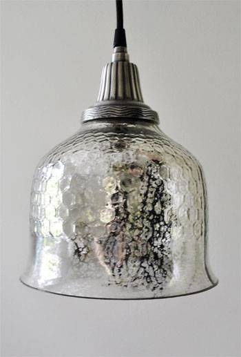 Lighting Design Ideas: Mercury Glass Pendant Light Fixture Mercury For Mercury Glass Lighting Fixtures (#6 of 15)