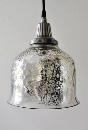 Lighting Design Ideas: Mercury Glass Pendant Light Fixture Mercury With Regard To Mercury Glass Pendant Lights (#9 of 15)