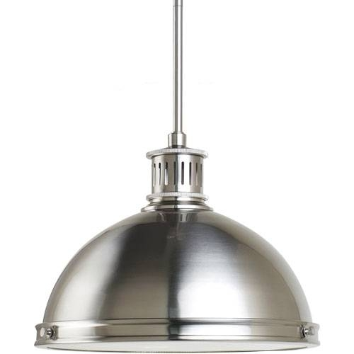 15 Best Of Brushed Stainless Steel Pendant Lights