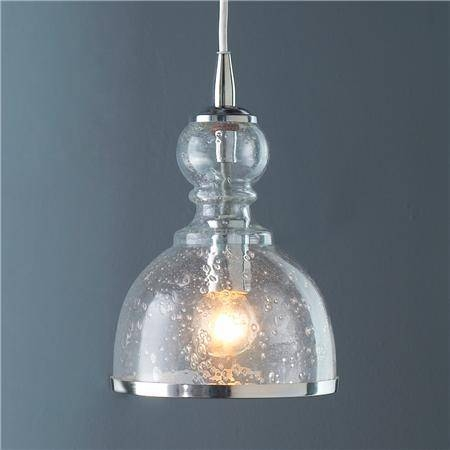 Lighting Design Ideas: Seeded Glass Pendant Light Seeded Glass With Regard To Seeded Glass Mini Pendant Lights (#9 of 15)