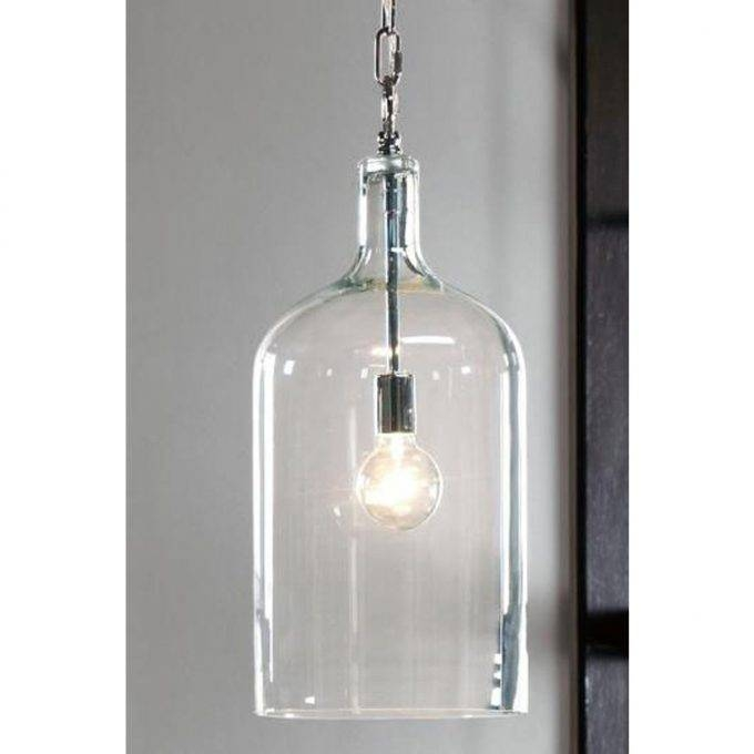 Lighting: Glass Jug Pendant Lights For Model Pendant Lights For Glass Jug Pendant Lights (#13 of 15)