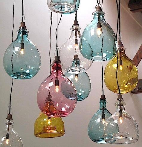 Lighting: Handblown Glass Pendants From Cisco Brothers – Remodelista With Aqua Glass Pendant Lights (View 12 of 15)
