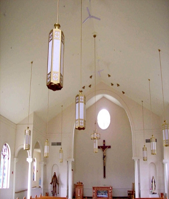 Lighting Manufacturers, Church Lighting, Commercial With Church Pendant Lights (#10 of 15)