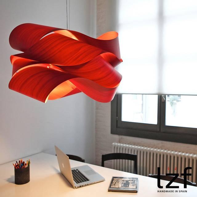Link Pendant Lightlzf For Modern Red Pendant Lighting (#11 of 15)