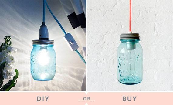 Little White Whale | Diy Or Buy: Mason Jar Light Pertaining To Mason Jar Pendant Lights For Sale (#13 of 15)