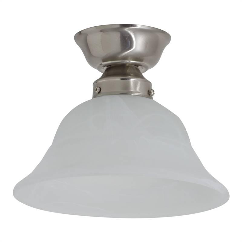 Luce Bella 22Cm Alice Alabaster Batten Fix Light | Bunnings Warehouse Pertaining To Batten Fix Lights Shades (#9 of 15)
