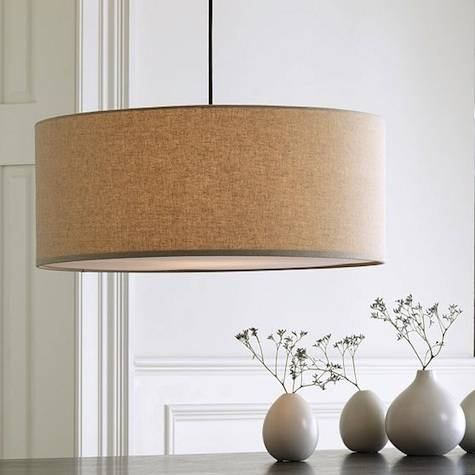Magnificent Drum Shade Pendant Light How To Make Your Own Drum In Barrel Pendant Lights (#10 of 15)