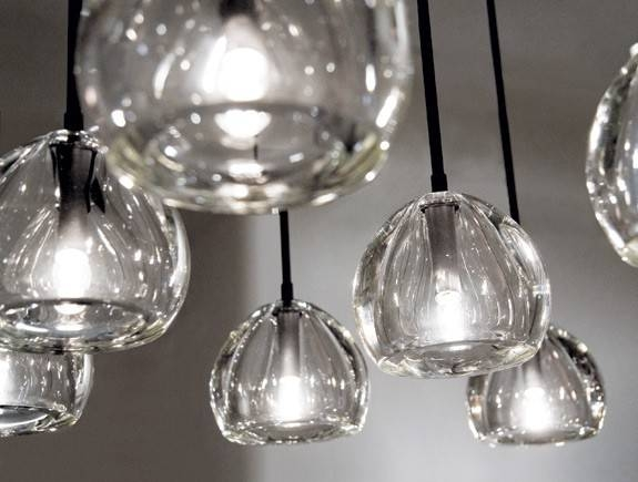Magnificent Hand Blown Glass Pendant Lights Hand Blown Glass Within Hand Blown Glass Pendant Lights (#12 of 15)
