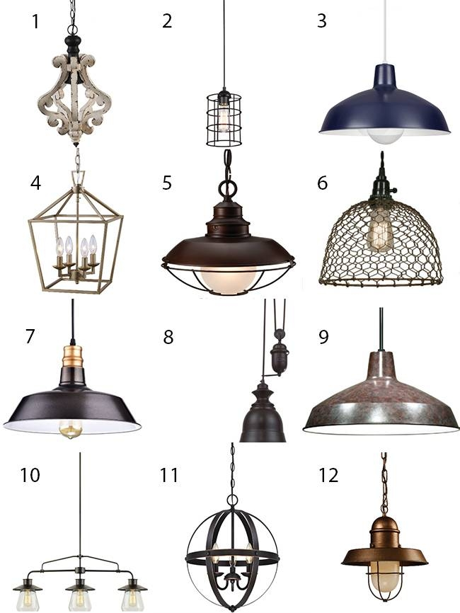 Make A Bold Statement With Farmhouse Lighting – Design Dazzle With Regard To Farmhouse Pendant Lighting Fixtures (#13 of 15)