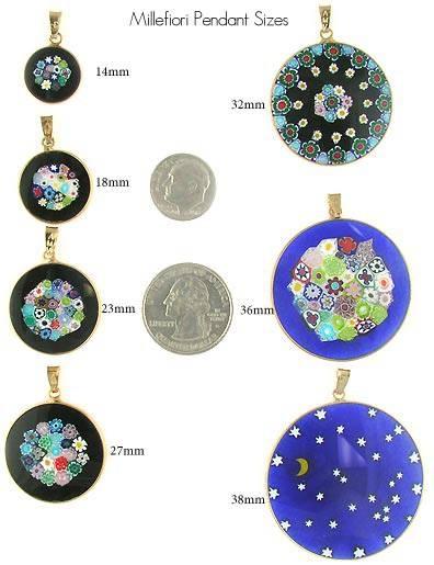 Making Millefiori Pendants – Venetian Glass Jewelry – Murano Glass Intended For Venetian Glass Pendants (#8 of 15)