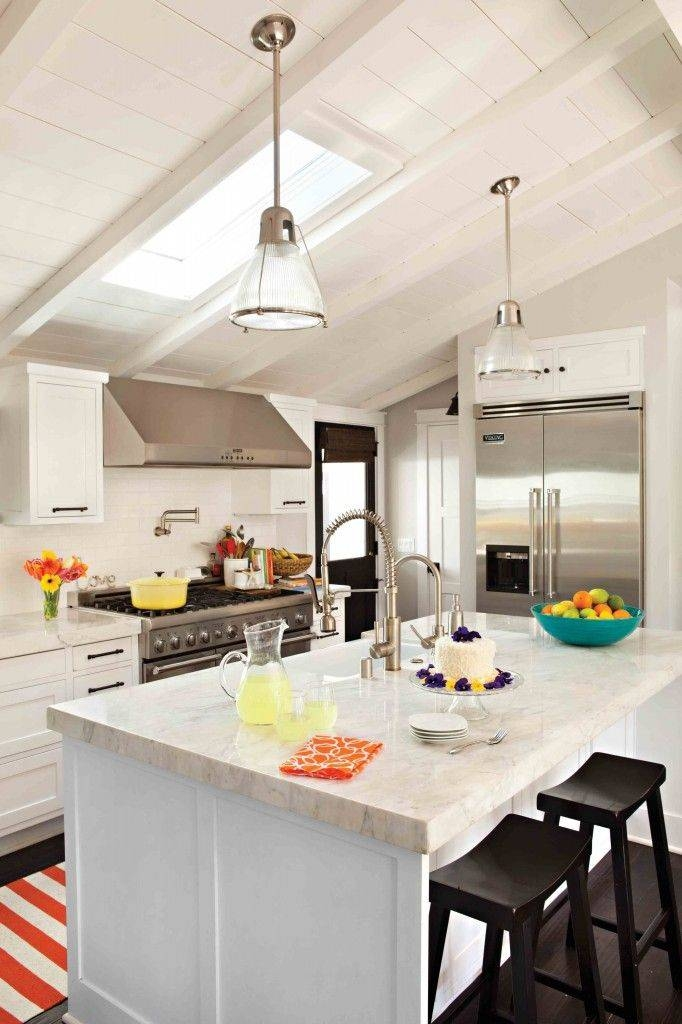 Marvelous Kitchen Lighting Vaulted Ceiling Ideas Contemporary In Pendant Lights For Sloped Ceilings (#8 of 15)