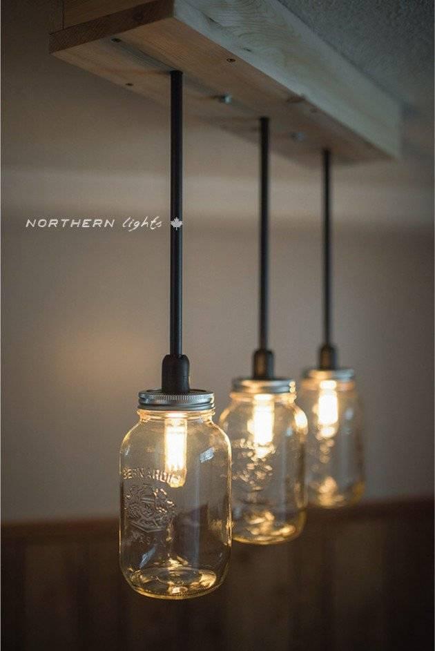 Mason Jar Pendant Light – Hbwonong Throughout Mason Jar Pendant Lights For Sale (#14 of 15)