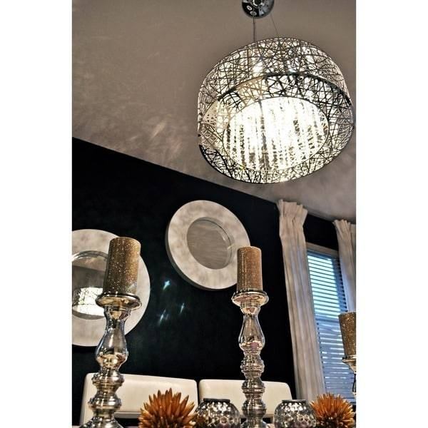 Maxim Inca 9 Light Chrome Finish Pendant – Free Shipping Today Intended For Inca 9 Light Pendants (View 14 of 15)