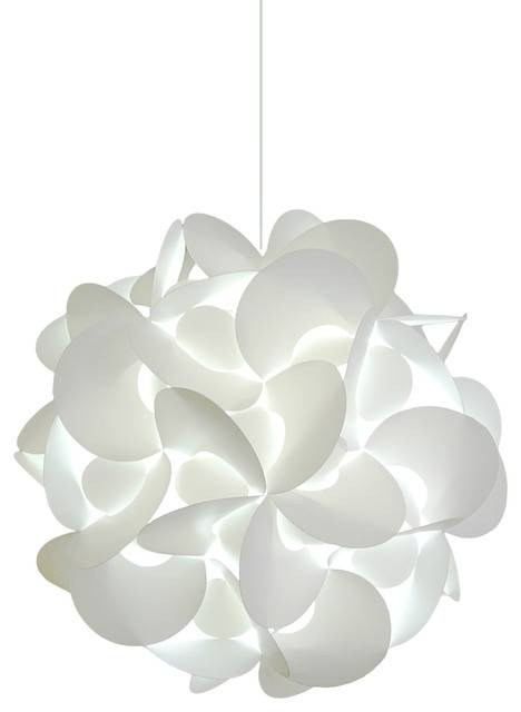 Medium Rounds Swag Plug In Pendant Lamp – Led Bulb, Cool White Within Plug In Pendant Lights (#11 of 15)
