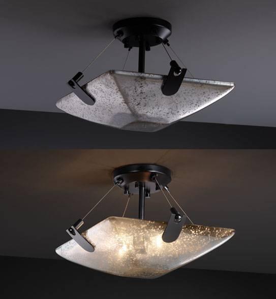 15 collection of mercury glass lights fixtures aloadofball Choice Image