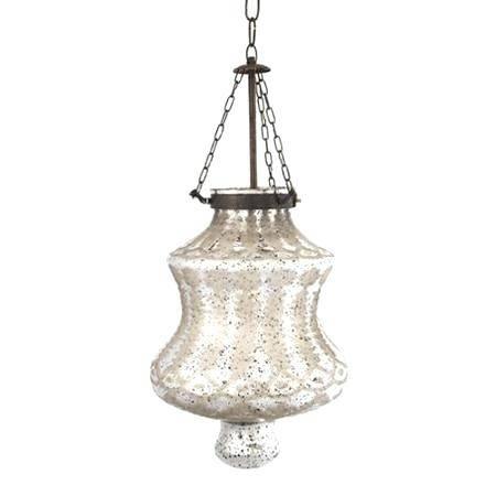 Mercury Glass Pendant Light (#14 of 15)