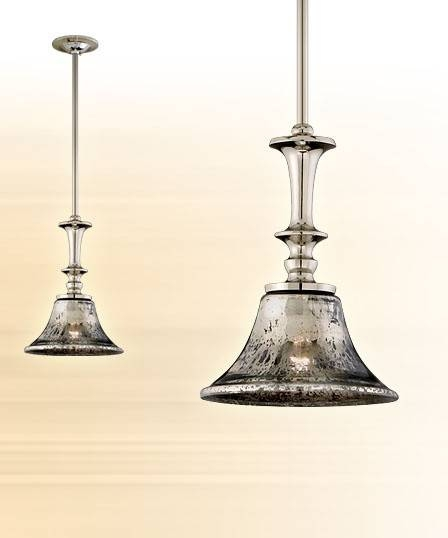 Mercury Glass Pendant Light – Hbwonong With Mercury Glass Lights Pendants (#6 of 15)