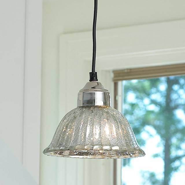 Mercury Glass Pendant Light | Roselawnlutheran For Mercury Glass Lights Pendants (#8 of 15)
