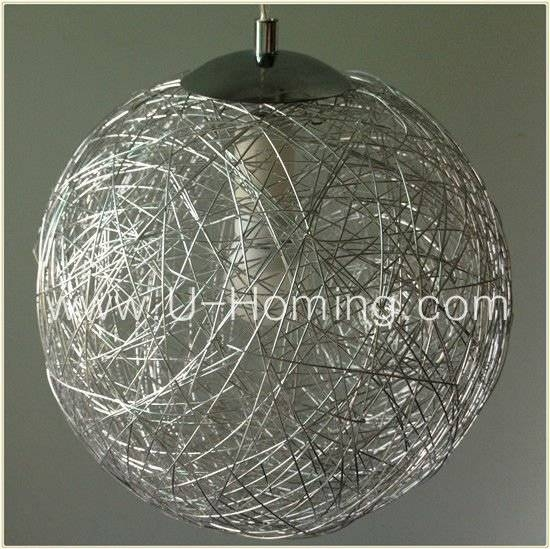 Mesh Wire Ball Pendant Lamp Fabric Pendant Ceiling Light – Buy Pertaining To Wire Ball Lights Pendants (#10 of 15)