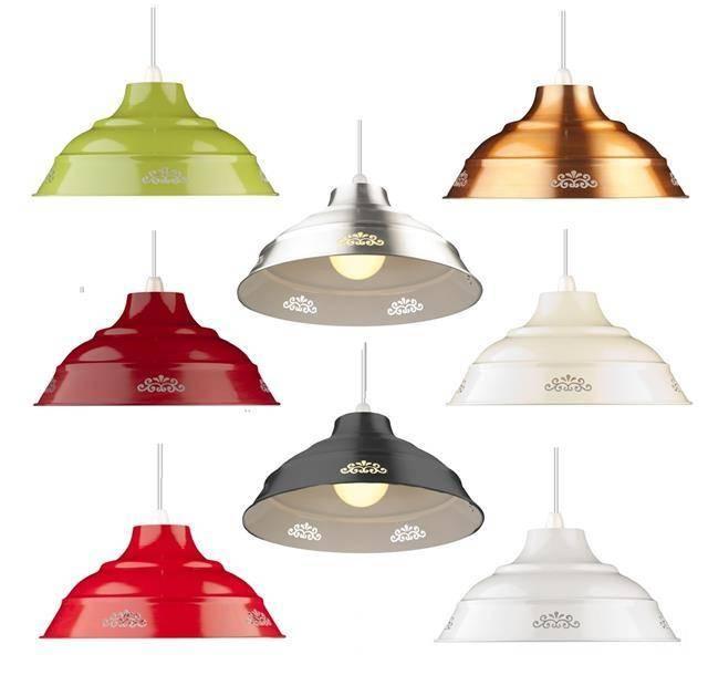 Metal Lamp Shades. . (View 14 of 15)