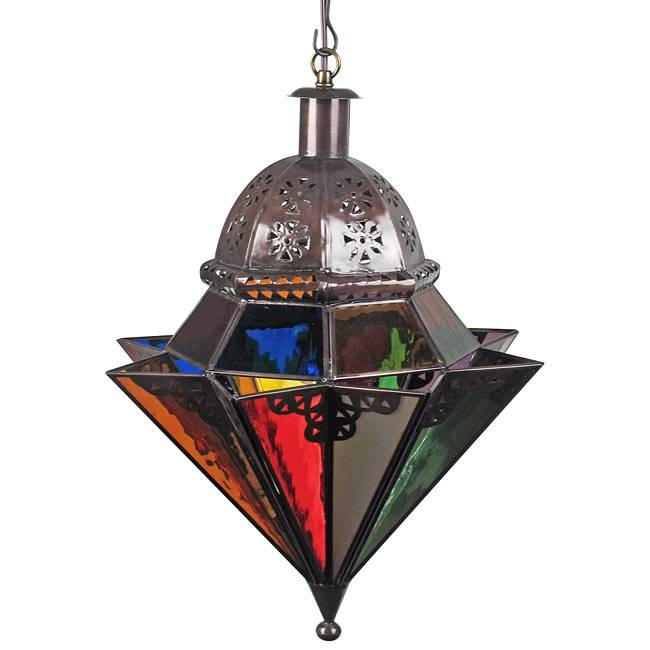 Mexican Hanging Lights And Ceiling Fixtures Handcrafted Rustic Regarding Mexican Pendant Lights (#8 of 15)