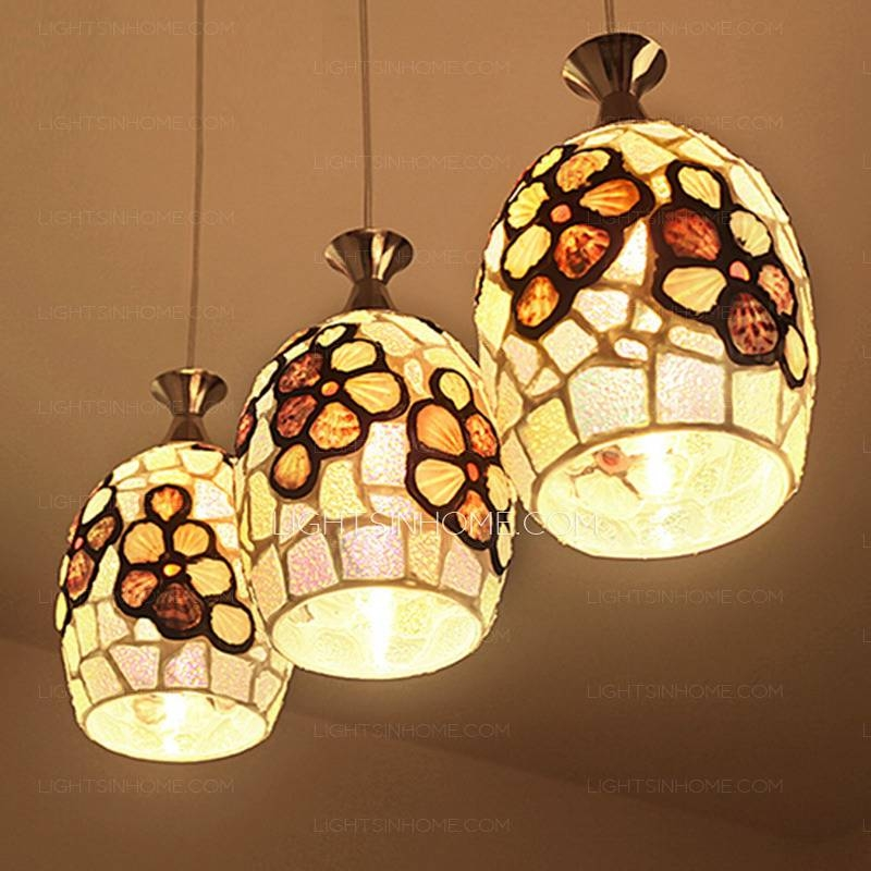 Mexican Pendant Lights And 3 Light Creative Style Regarding Mexican Pendant Lights (#9 of 15)