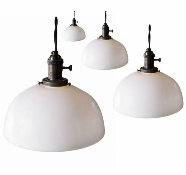 Milk Glass Pendant Light Fixtures – Pendant Lighting Ideas Within Milk Glass Pendant Light Fixtures (#8 of 15)