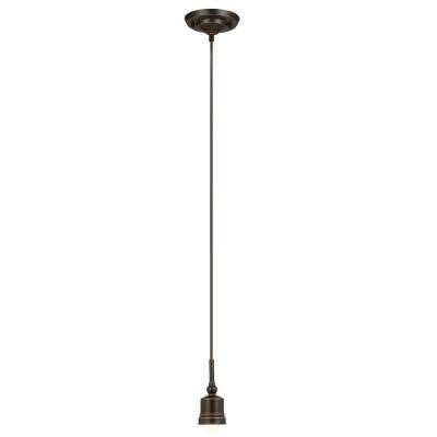 Mini – Hampton Bay – Bronze – Pendant Lights – Hanging Lights – Within Hampton Bay Mini Pendant Lights (View 7 of 15)