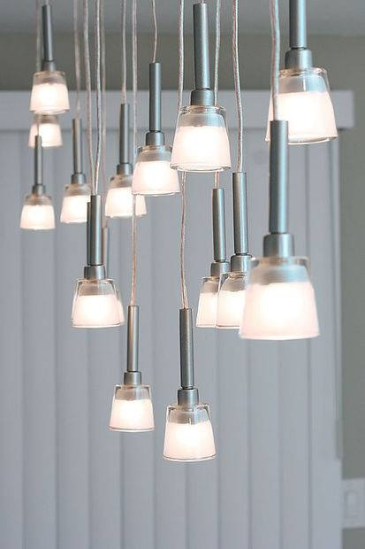 Mini Pendant Chandelier Made From Ikea Lamps: 9 Steps (With Pictures) With Regard To Ikea Pendant Light Kits (#9 of 15)