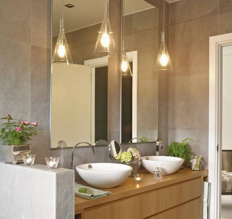 Inspiration About Mini Pendant Lighting For Bathroom Por Pertaining To