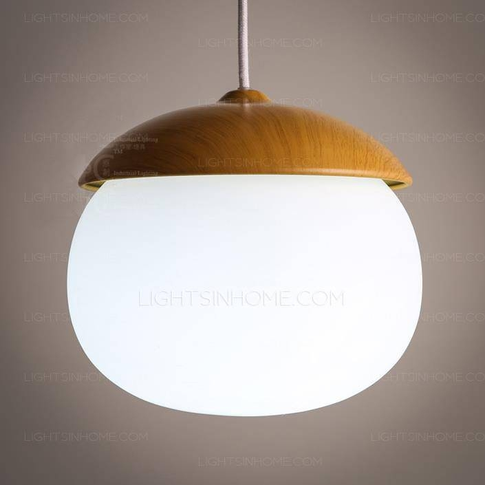 Mini Pendant Lights E27 Screw Base Glass Shade In Discount Mini Pendant Lights (View 2 of 15)