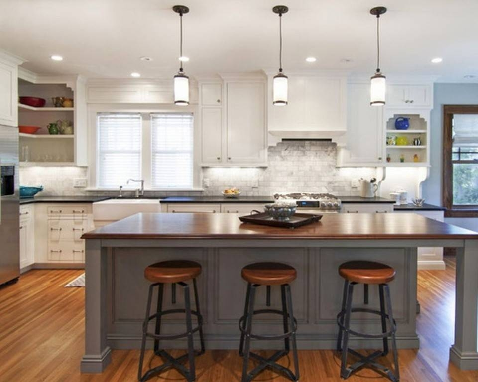 Popular Photo of Home Depot Pendant Lights For Kitchen