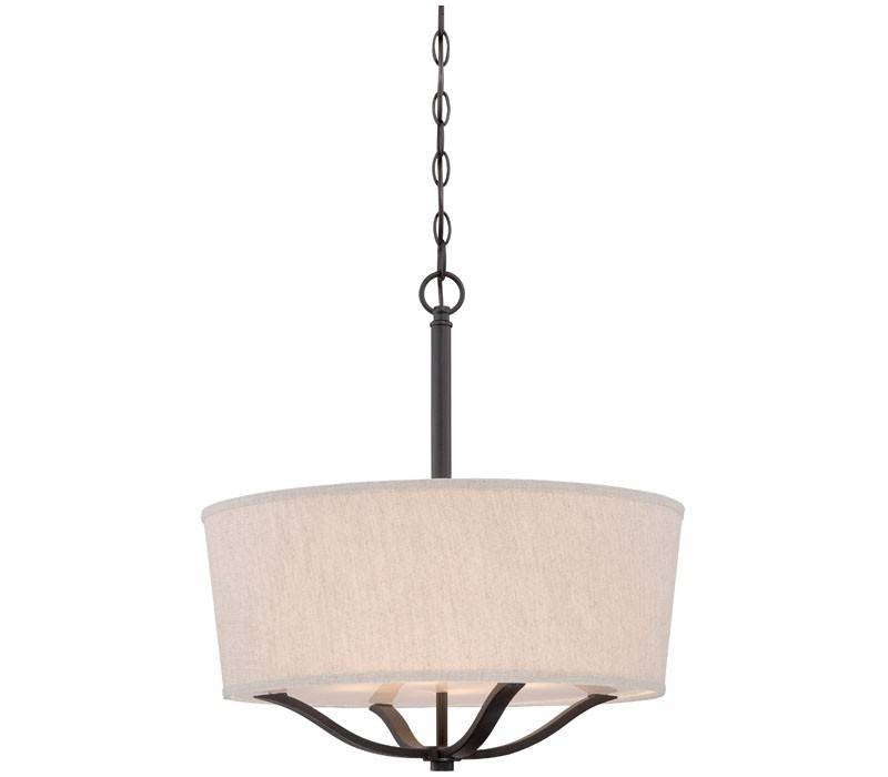 Minka Lavery 843 284 Pendants 3Lt Vintage Bronze Pendant Lighting With Regard To Minka Lavery Pendants (#11 of 15)