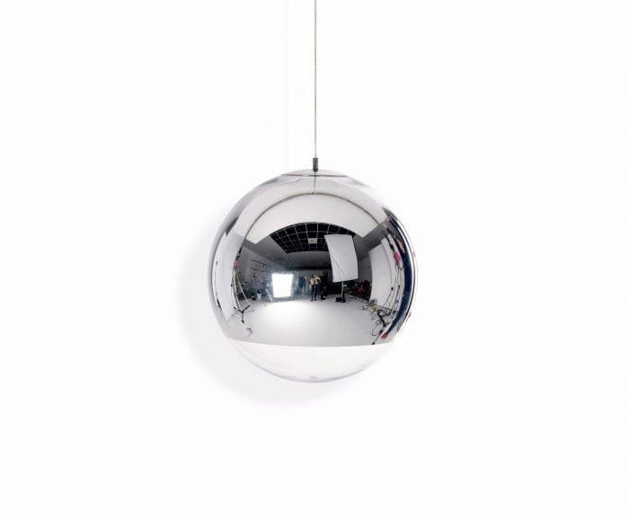 Mirror Ball Pendant 50cm | Pendant Lights | Tom Dixon Regarding Disco Ball Pendants (View 8 of 15)