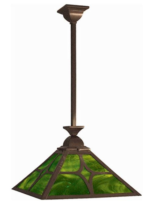 Mission, Arts And Crafts, Craftsman, Rustic Lighting Throughout Arts And Crafts Pendant Lights (#13 of 15)