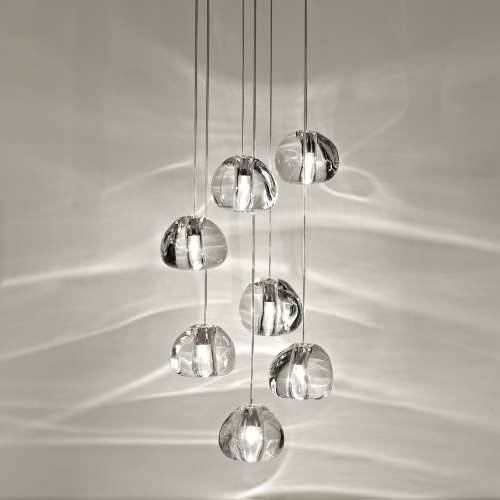Mizu 7 Light Pendant Lightterzani | Ylighting Intended For Mizu Lighting (#4 of 15)